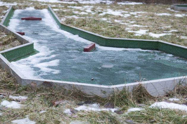 Isig minigolfbana