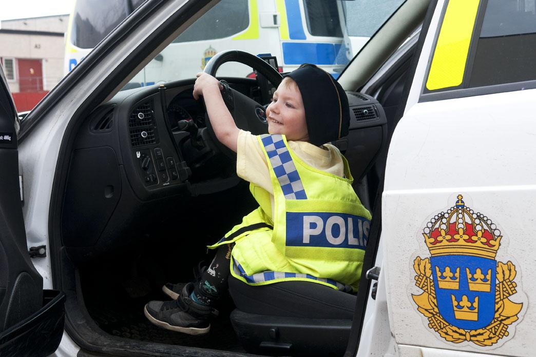 Blivande polis kanske