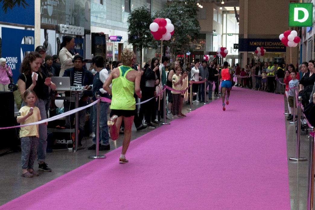Löpning på Rosa mattan i SKLM