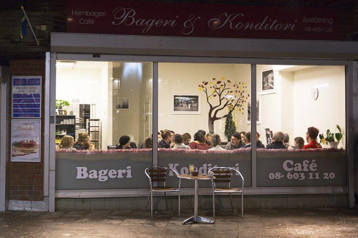 Bredängs café