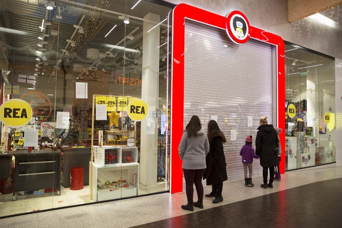 BR stängd i Skärholmens Centrum