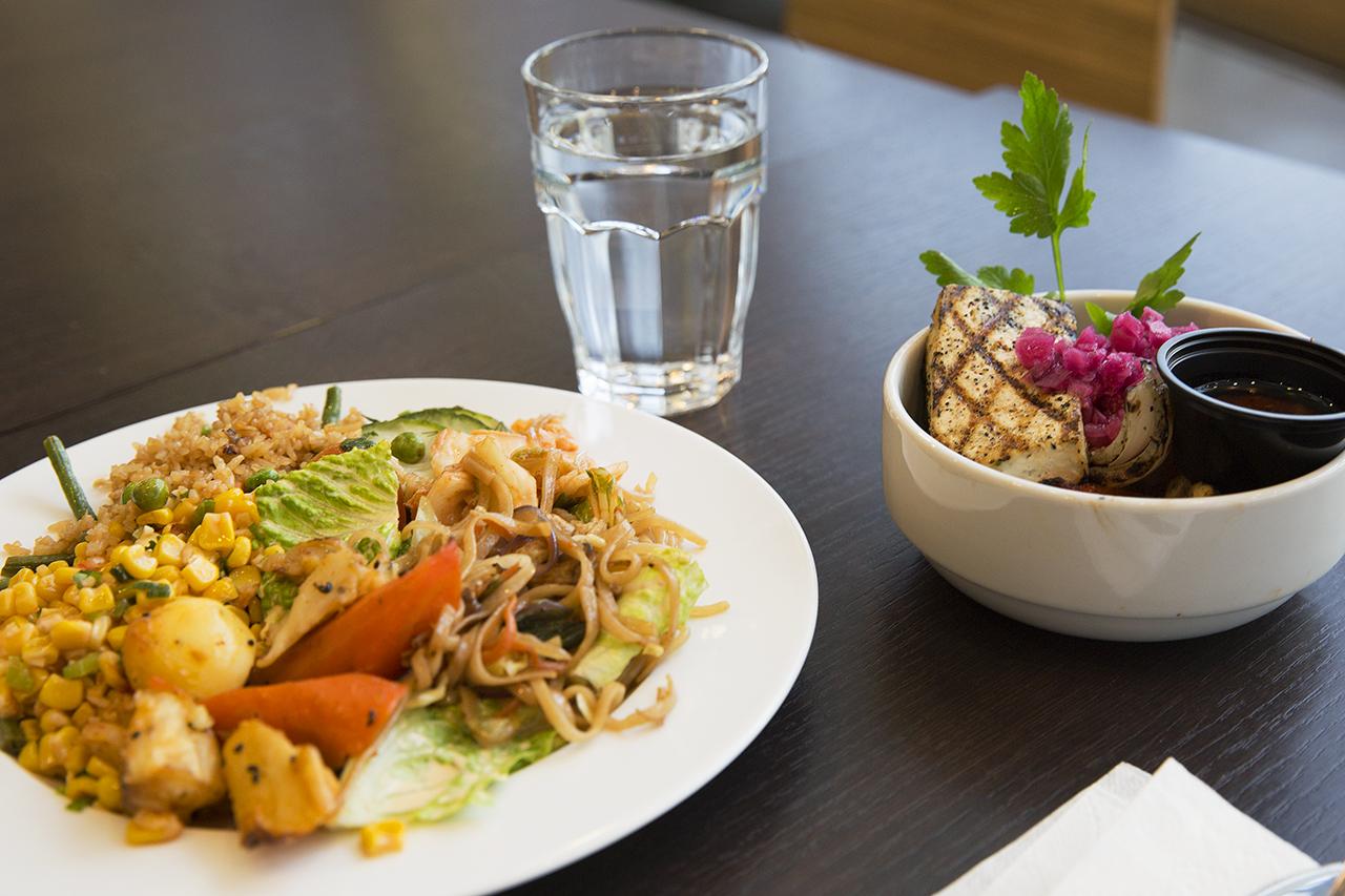Vegetariskt Chu Yaki