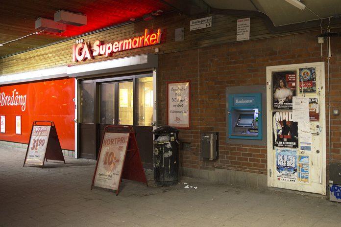 Bankomat Bredängstorget