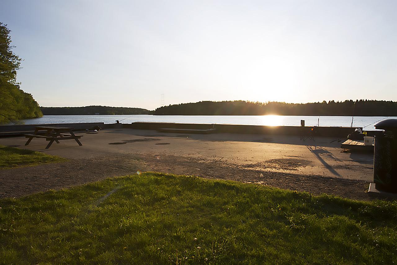 Brygga Bredängs Badväg.