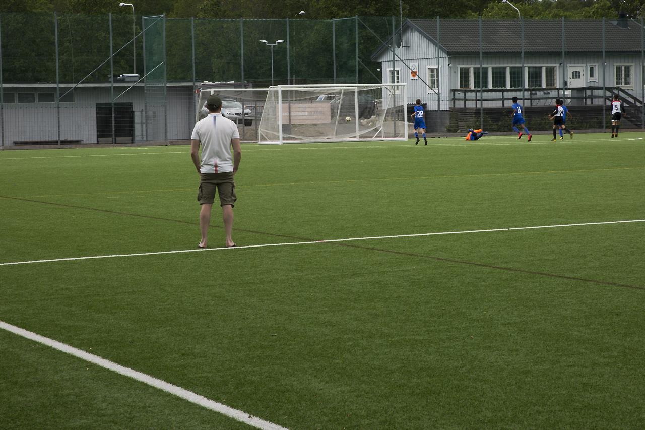Mindre plan för barn och ungdomsfotbollen