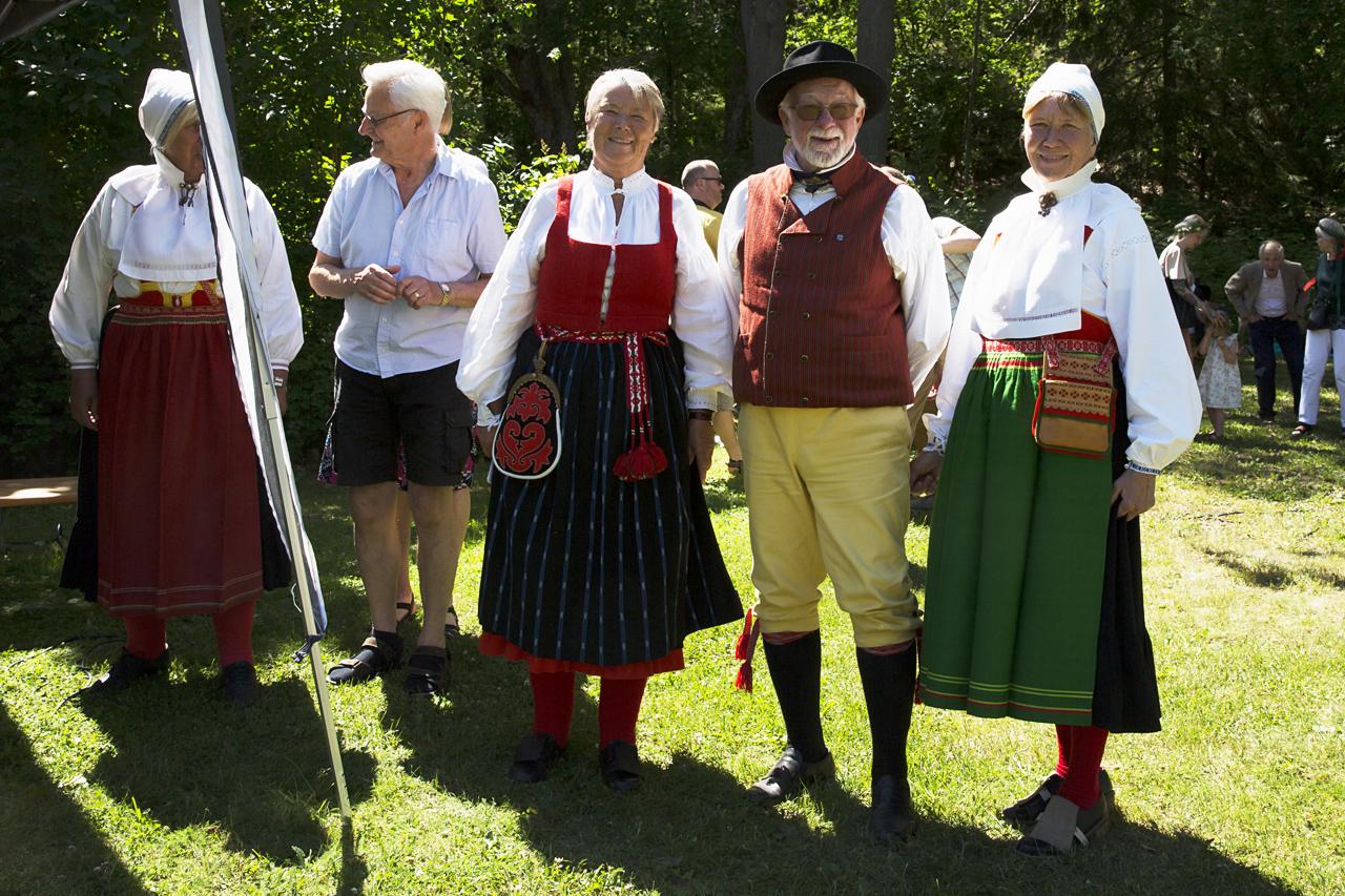 Svensk glad midsommar.