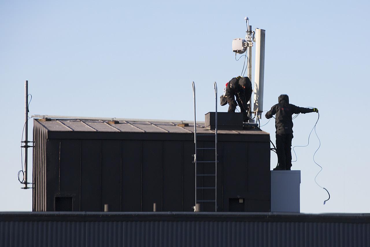 Installation antennutrustning