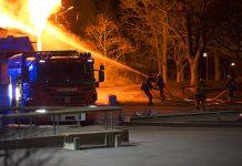 Polisens hypotes om branden i Slättgårdsskolan