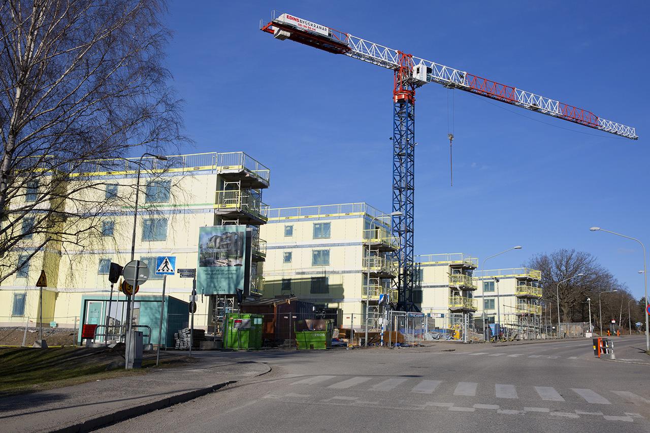 Bygge Björksätravägen