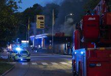 Garagebrand i Bredängs Centrum
