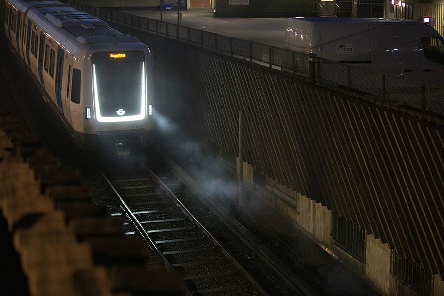 T-banetrafik igång